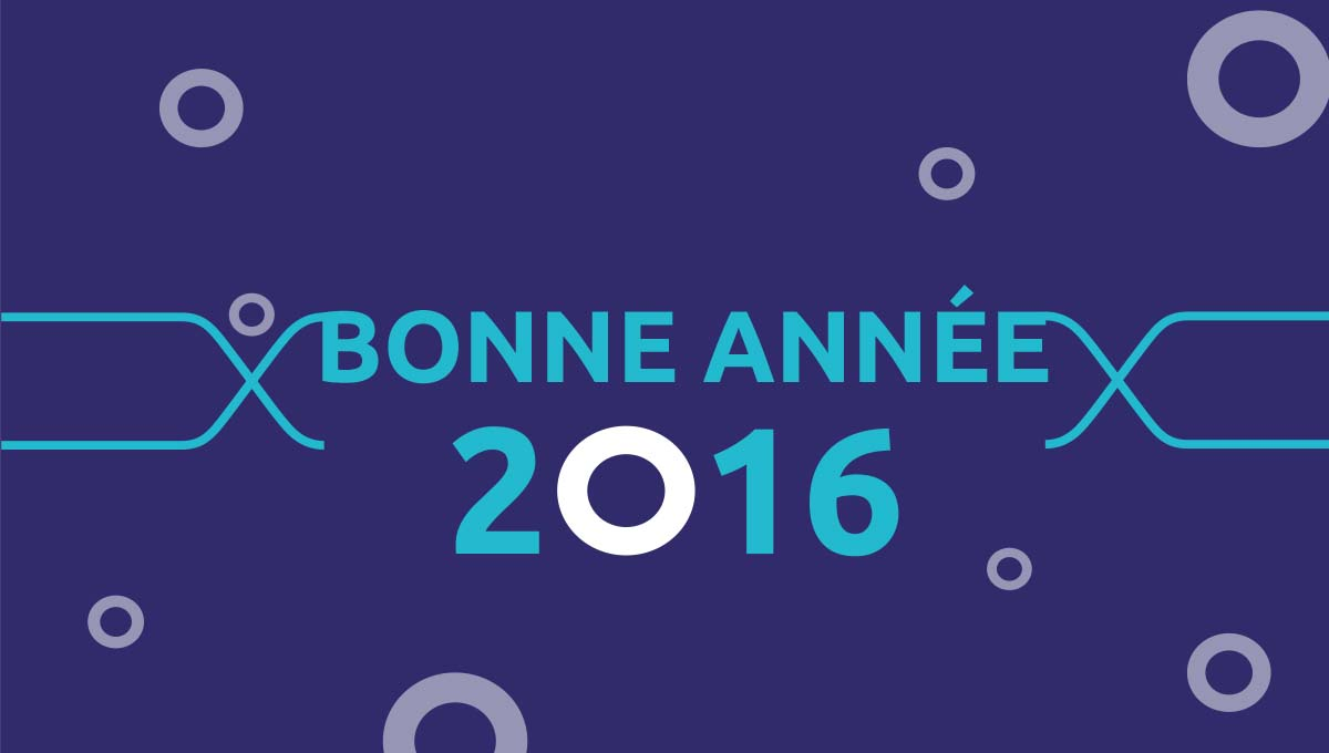Agence Comete Création  Animation voeux 2016 - Anact Lyon