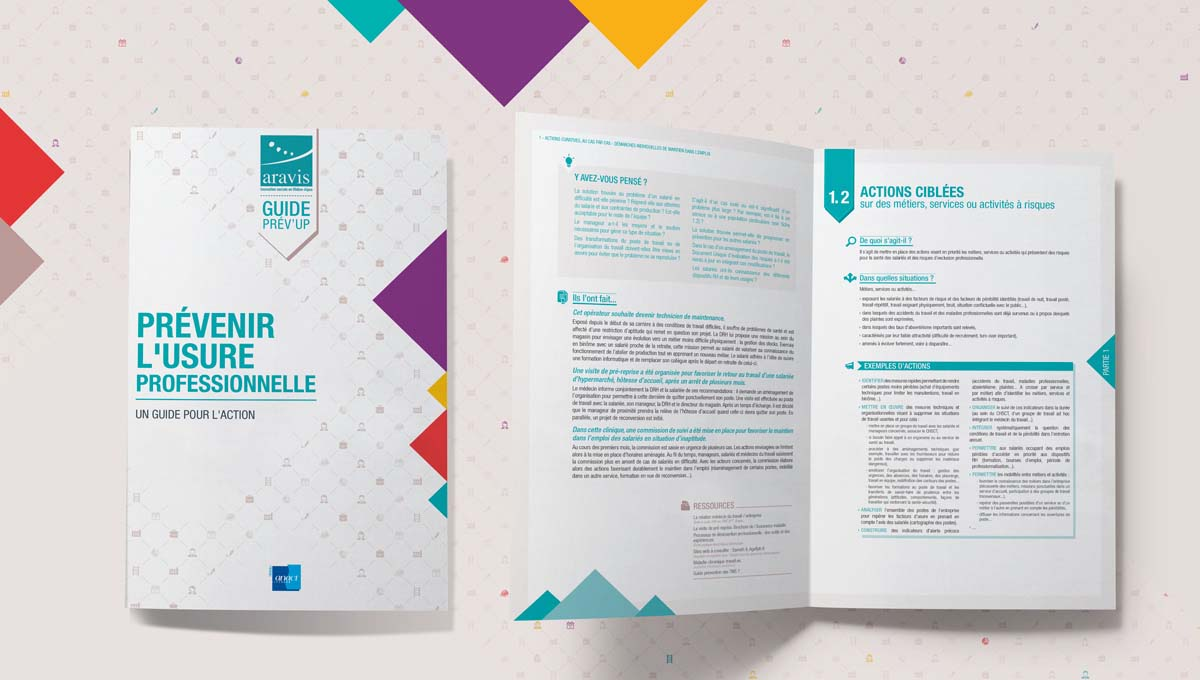 Agence Comete création Guide collaboratif Prev'up : Catalogue / Rapport / Guide pour Aract Lyon