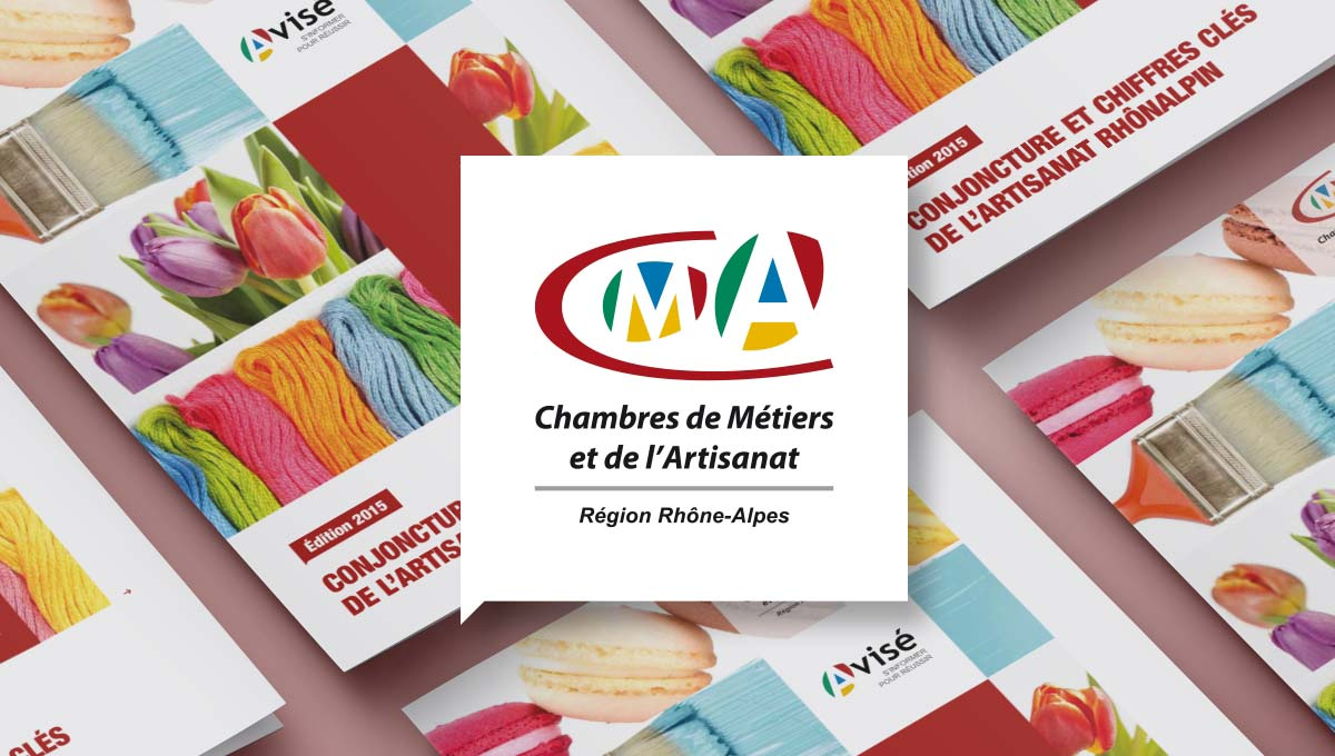 Agence Comete création CMA couverture :  pour CRMA - Panorama