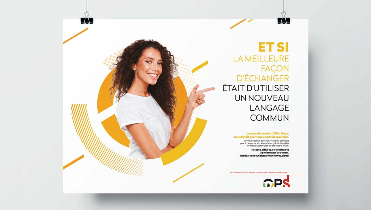 Agence Comete création Campagne interne management : Campagne B to B pour Groupe SEB - OPS