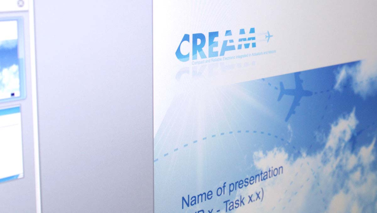 Agence Comete Création  Powerpoint projet Cream - Alma CG Lyon