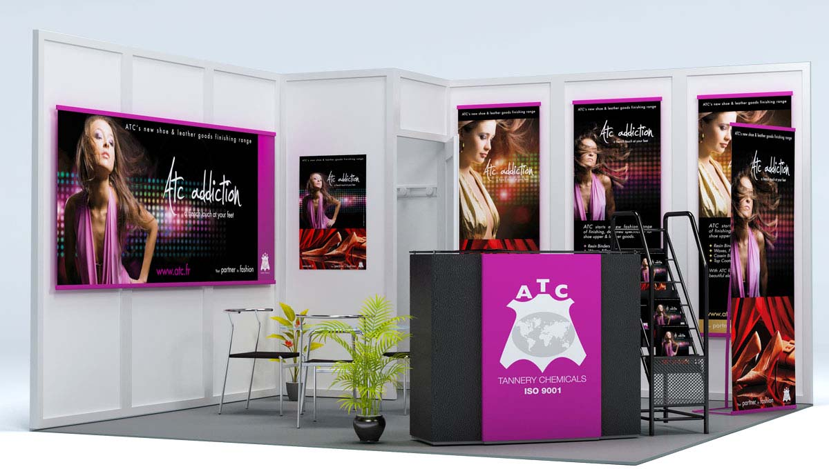 ATC - Campagne addiction - Stand ATC - Campagne