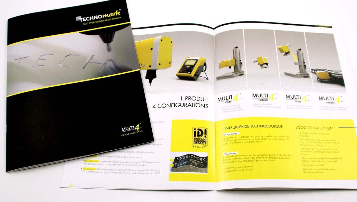 Top Plaquette institutionnelle 16 pages - Technomark / Book de  XN18