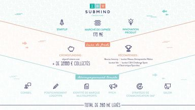 Agence communication Comete - création Accompagnement & conseil Lyon SUBMIND Freediving