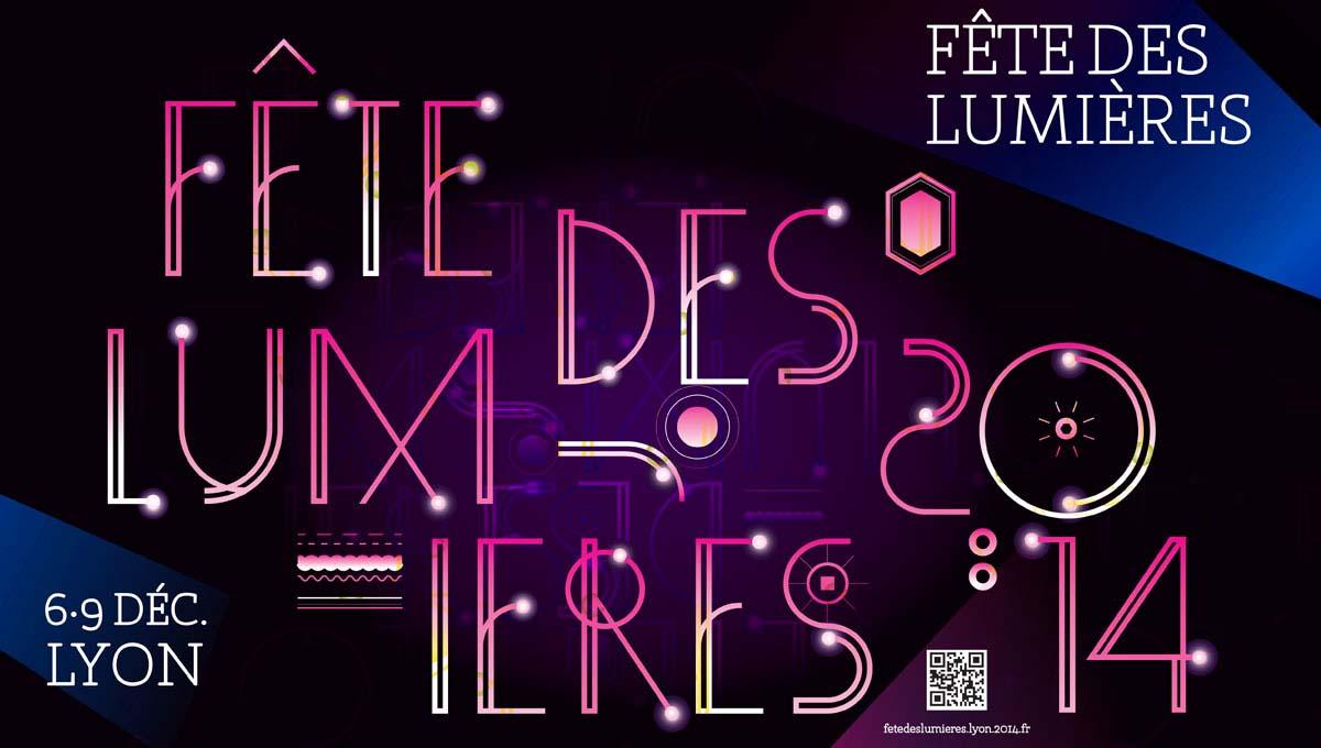 Affiche Fete Des Lumieres Ville De Lyon